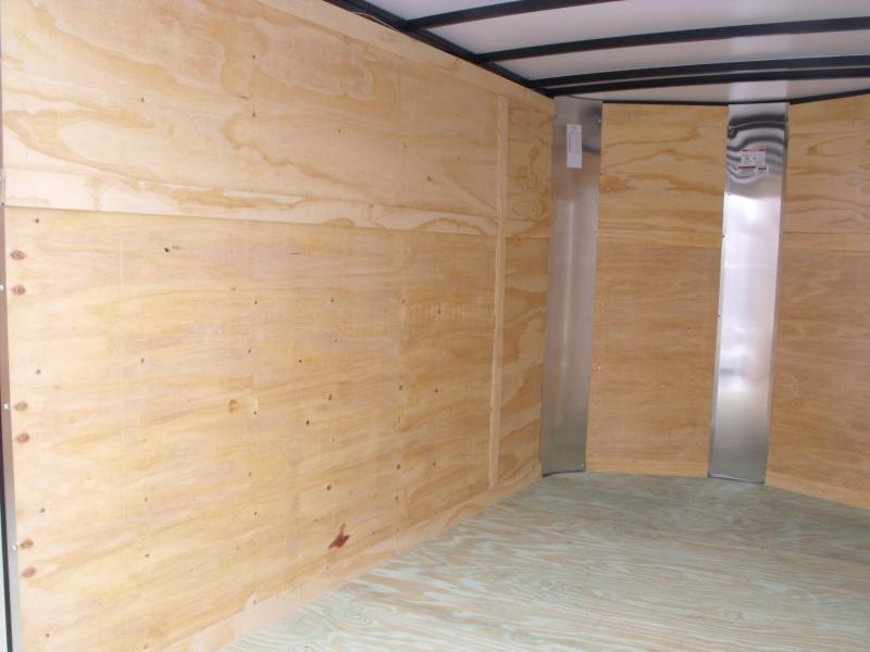 Enclosed Trailer BARN DOORS 6 X 10 ALL TUBE Construction White In Color