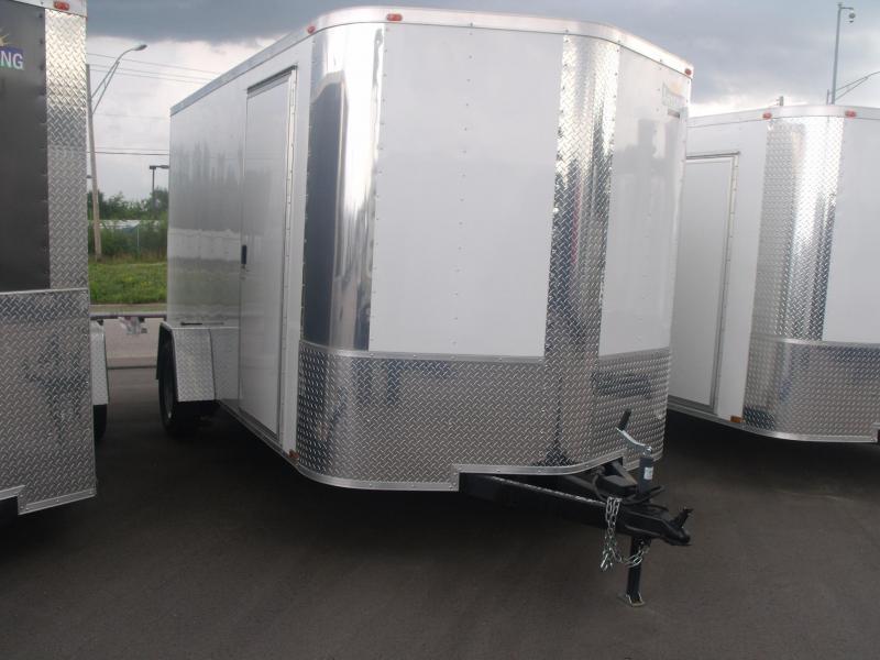 Enclosed Trailer   7 X 12 Ramp  Electric Brakes Ramp