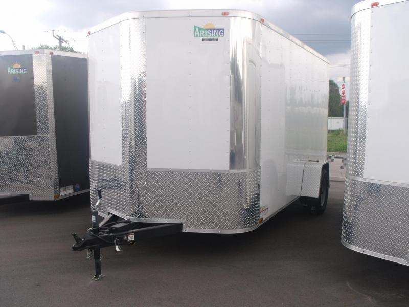 Enclosed Trailer   7 X 12 Ramp  Electric Brakes Ramp
