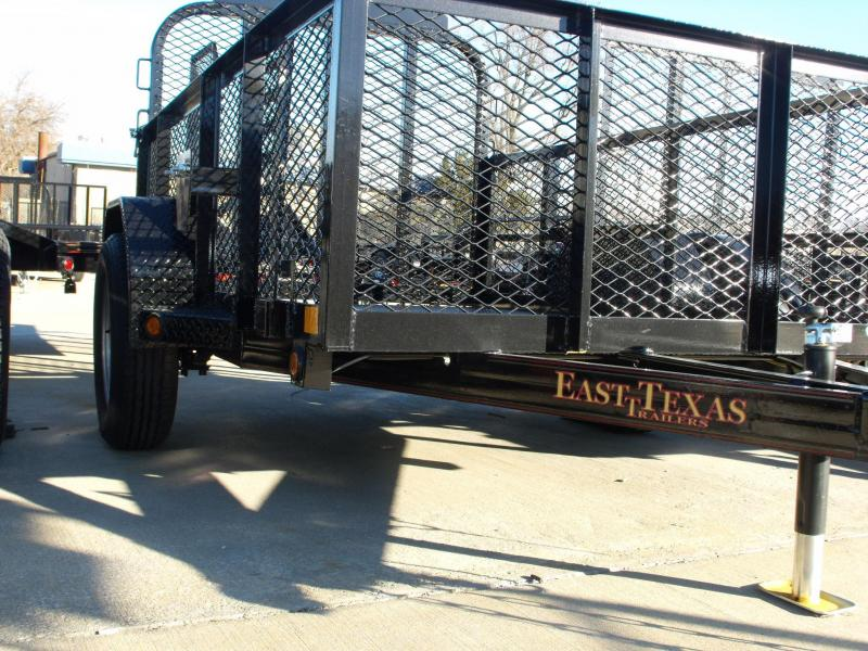 High-Wall Trailer 5 X 8 All Steel Mesh Sides 2990 Axle