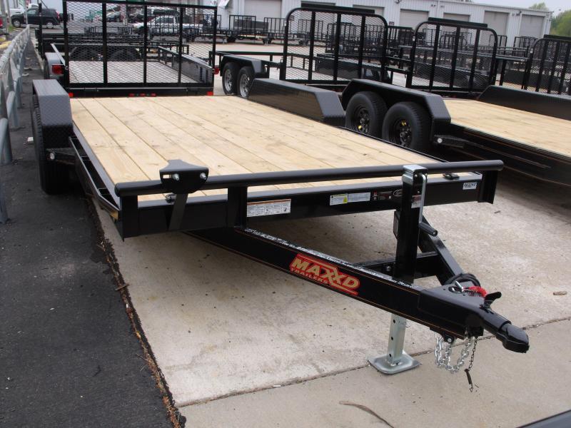 Car Hauler 83 X 16 Steel Dove Tail 7000 GVW