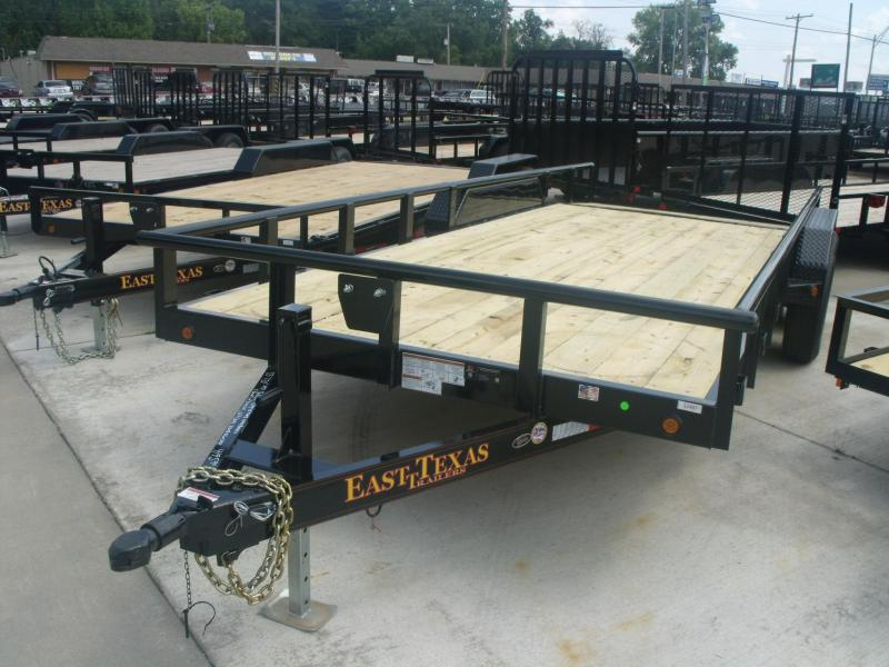 Car HaulerTrailer 83 X 20 12000 GVW 4 WL Brakes Ramps Pipe Rail Top