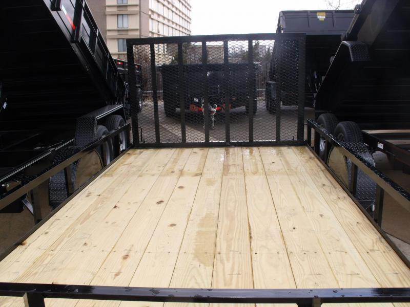 Utility Trailer 83 X 12 Front & Rear Folding Gate 2990 Axle MAXXD