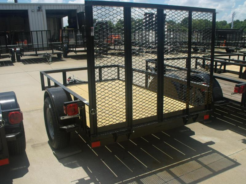 Look At This      5 X 8 Utility Trailer Ramp 2990 # Axle