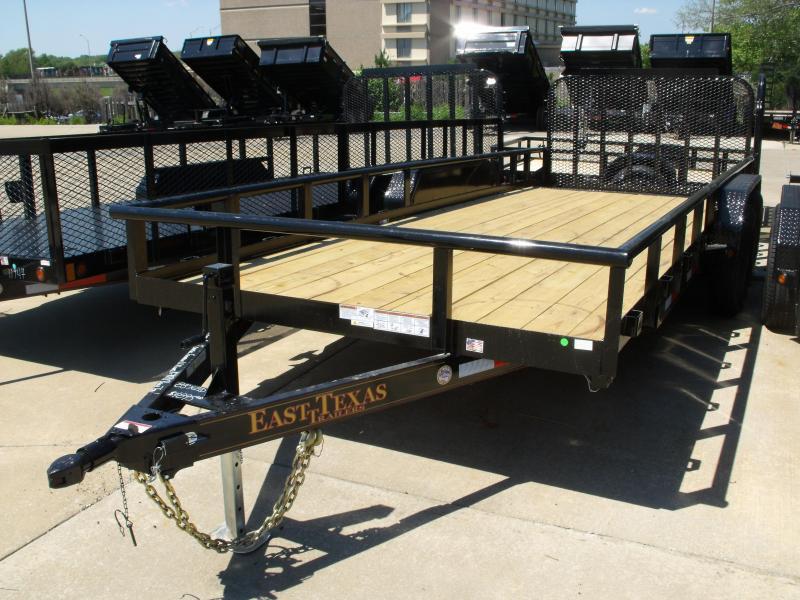 Utility Trailer Pipe Rail Top 83 X 20 Dove 12000 GVW in Ashburn, VA