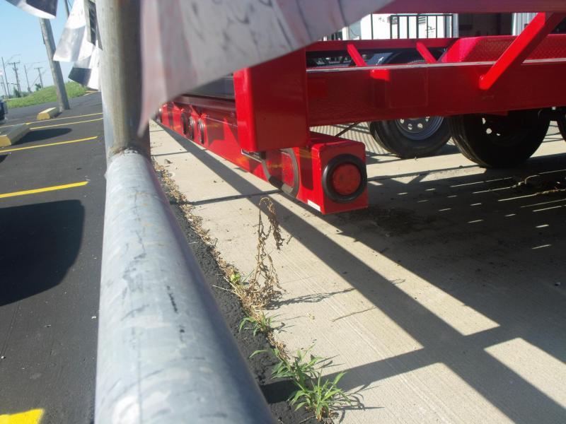 """ATV Trailer 61"""" X 20 Side Load Rear 7000 GVW"""