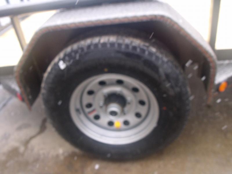"Uyility Trailer 61"" x 10 Ramp 5200# Axle Electric Brakes"