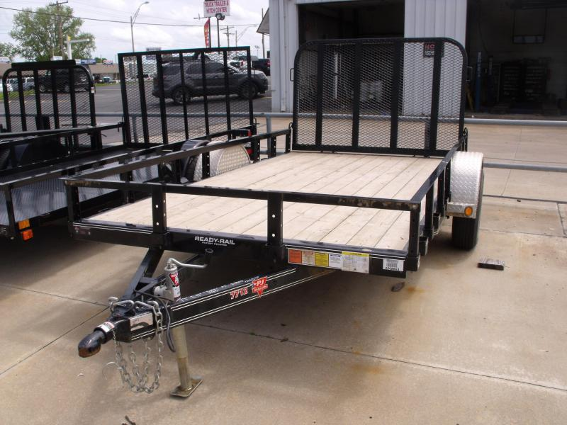 Used Trailer 77 X 12 Spring Assisted Gate 2990 Axle