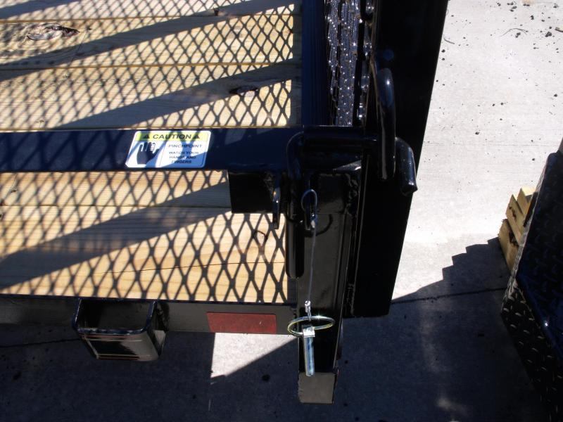 Premium Utility 83 X 12 Spring Assist Tube Gate LED's