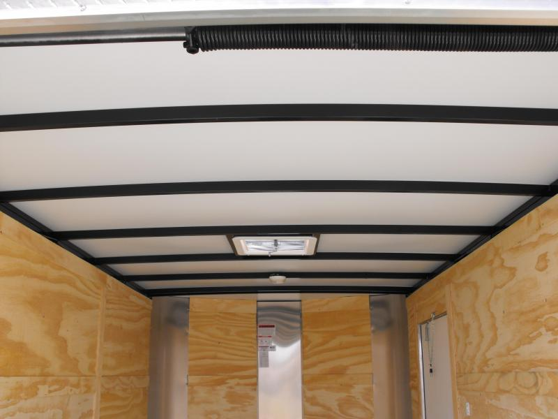 Enclosed Trailer 7 X 12 Ramp ALL Tube Construction Black In Color