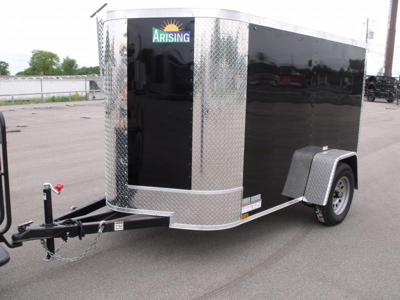 Enclosed Trailer  5 X 8 Ramp 5' Height Fits In The Garage ALL Tube Construction in Ashburn, VA