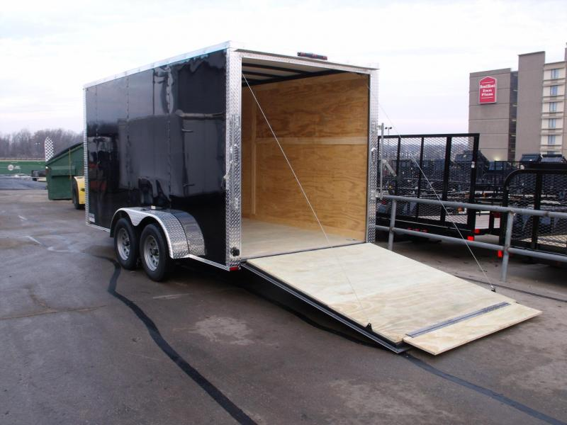 Enclosed Trailer 7 X 14 Ramp 7' Interior ((( ALL TUBE CONSTRUCTION )))