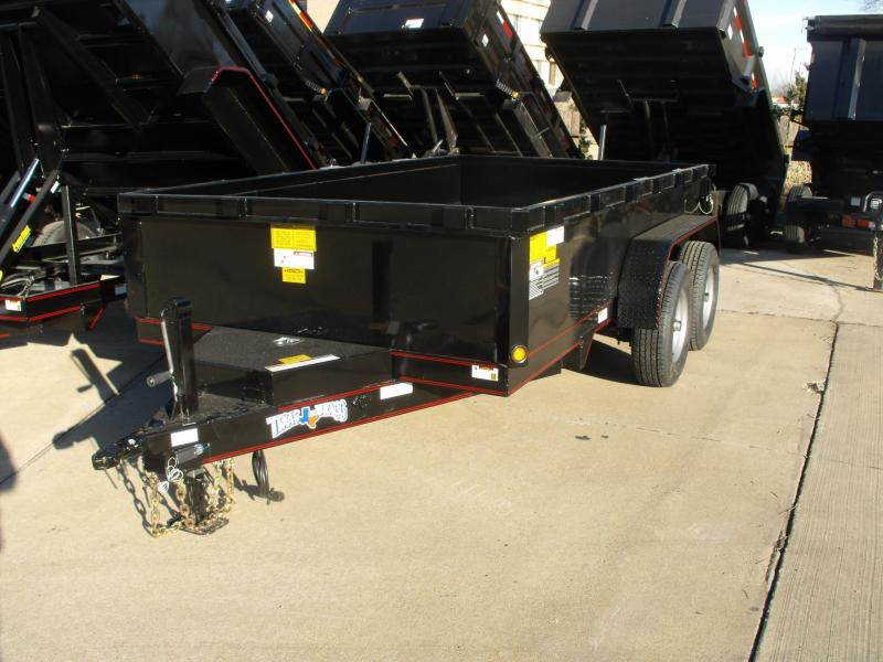 Dump Trailer 77 X 10 Combo Gate GVWR  9995 LBS
