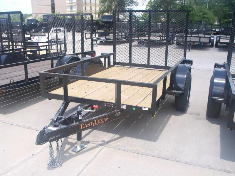 Utility Trailer  5 X 8  Ramp 2990 # Axle
