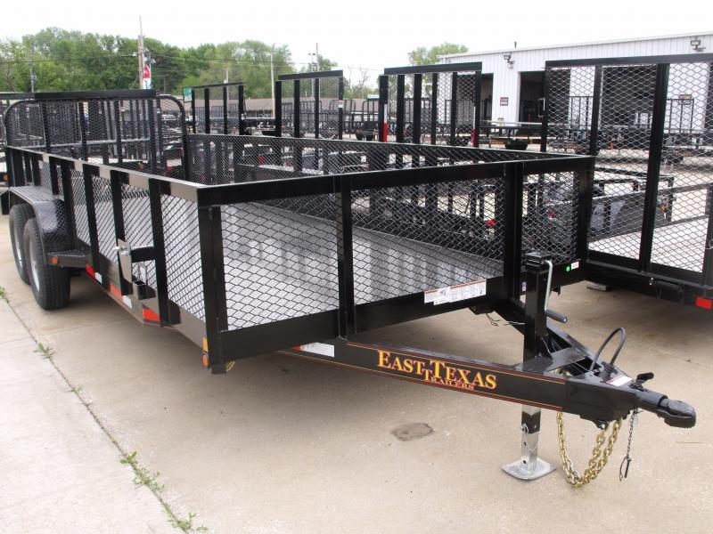 High-Wall Trailer  83 X 20 Landscape Trailer Steel Trailer 12000 GVW in Ashburn, VA