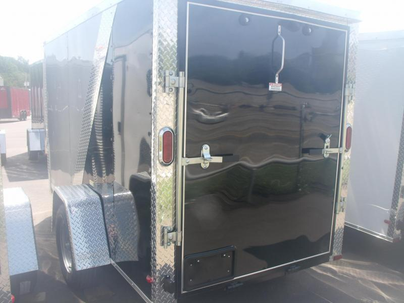"Enclosed Trailer 5 X 10 Ramp 5' 6"" Tall 2990 # Axle All Tube Construction"