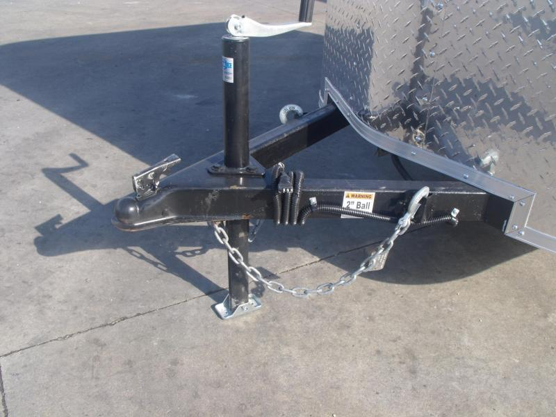 """LOOK AT THIS  Enclosed Trailer 4 X 6 Ramp 15"""" Tires ALL Tube Construction"""
