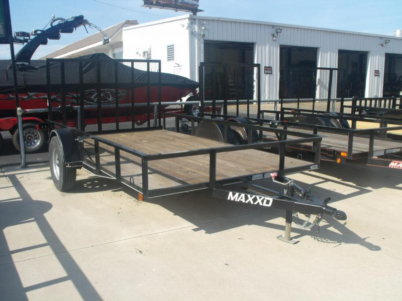 Utility Trailer 83 X 12 Ramp Front And Rear Folding Gate