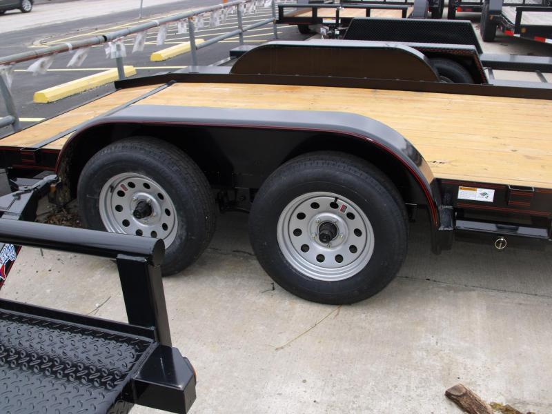 Car Hauler 83 X 16 Dove  Brakes 7000 GVW Ramps