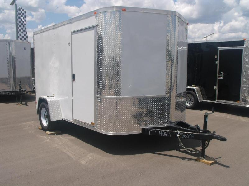 Enclosed Trailer 7 X 10 Ramp All Tube Construction