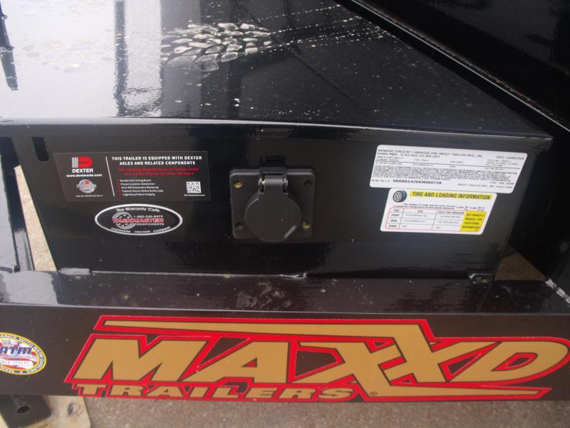 Dump Trailer 83 X 14 14000 GVW  Spreader Gate  MAXXD
