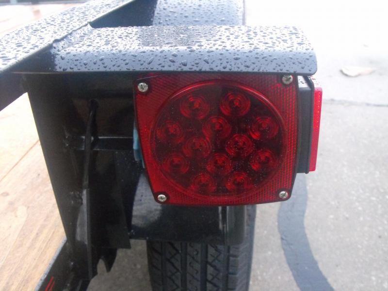 Utility Trailer 5 X 8 Gate LED Lights