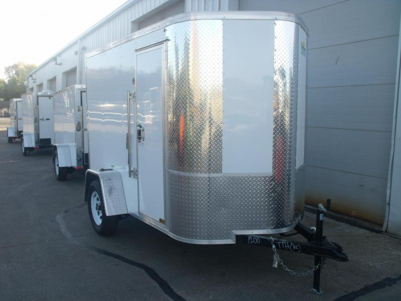 Enclosed Trailer 5 X 8 Ramp 6' Interior  Tubular Construction