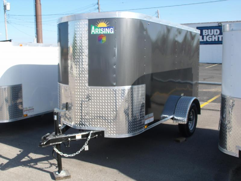Enclosed Trailer For The Smaller Vehicles  4 X 8 Barn Door 4' 6