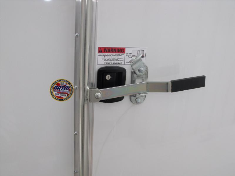 Enclosed Trailer 7 X 12 BARN DOORS ALL Tube Construction 2990 Axle