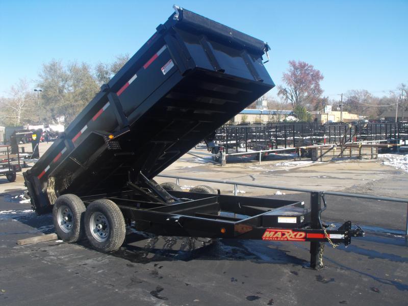 Dump Trailer 83 X 14 Combo Gate 14000 GVW Tuff Side