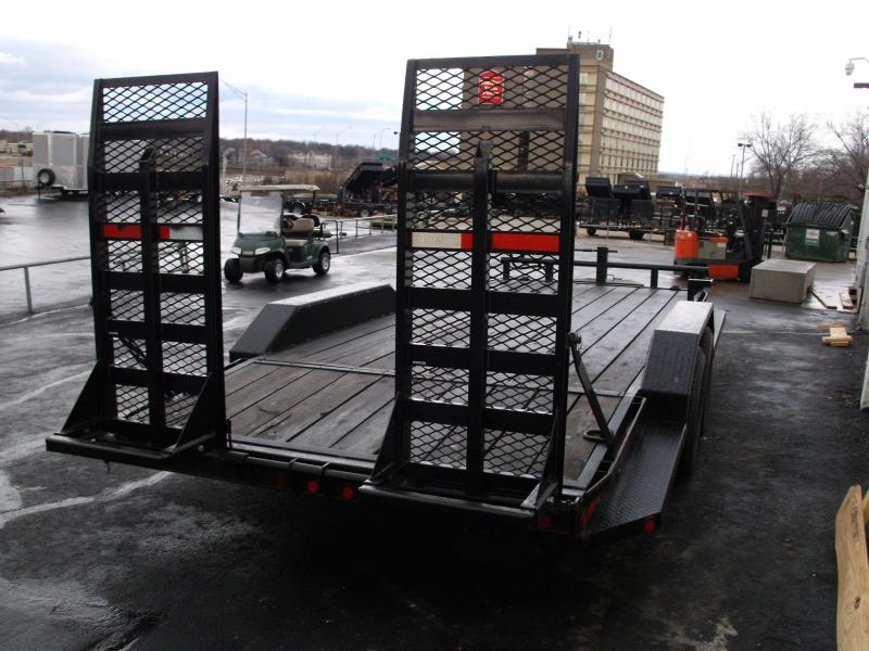 Equipment Trailer 83 X 16+4 Dove Equipment Trailer OAK DECK