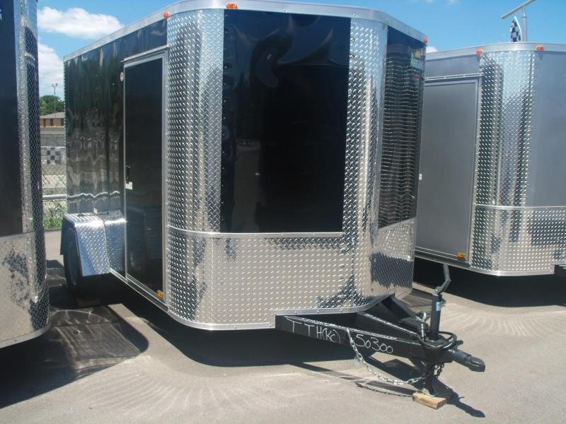 "Enclosed Trailer  7 X 10   Ramp 6' 3"" Height"