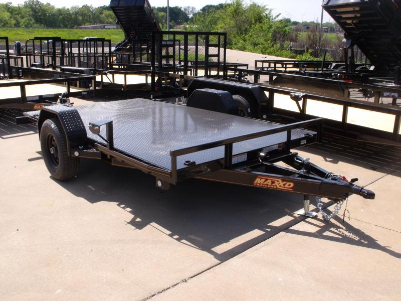 Tilt Trailer Scissor Lift Trailer 83 X 12 Tilt 5200 # Axle ALL Steel Trailer