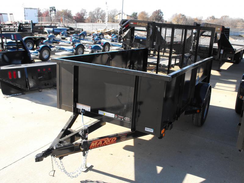 "Utility Trailer  61"" X 10 Hi-Wall Smooth 2990 Axle Sides MAXXD"