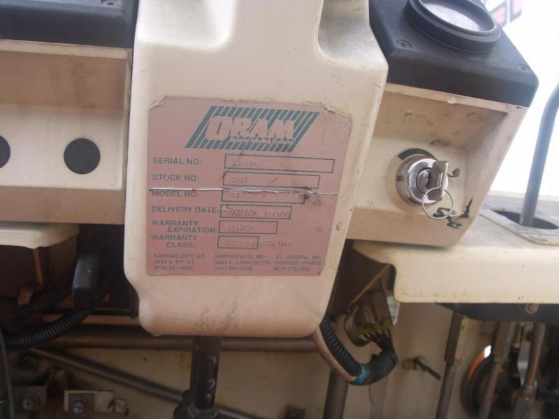 1997 Nissan Model 90 Fork Truck  3 Section Mast 4013 Hours