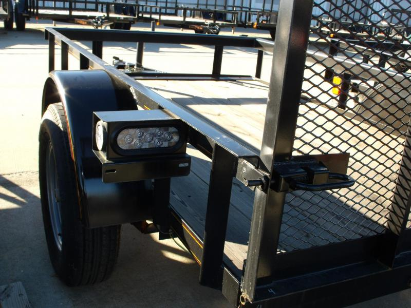 Utility Trailer 5 X 8 Gate  2990 # Axle