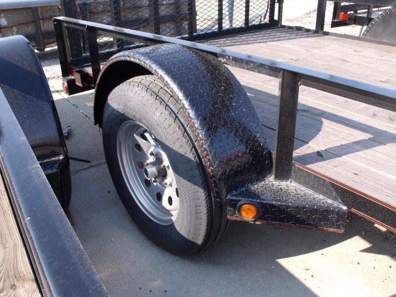 Lawn Trailer 77 X 10 Front & Rear Folding Gate