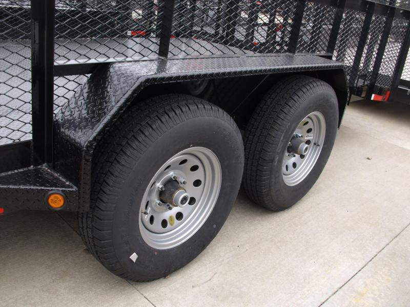 High-Wall Trailer  83 X 20 Landscape Trailer Steel Trailer 12000 GVW