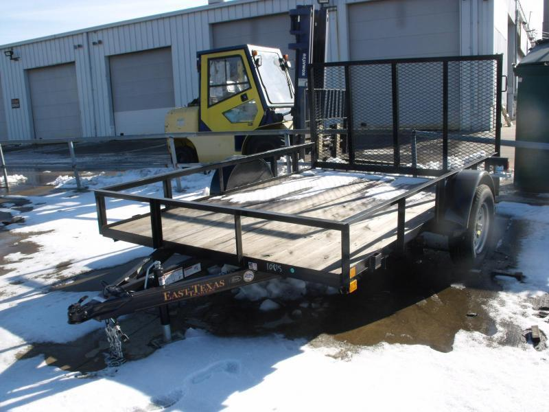 Utility Trailer 83 X 10 Ramp 2990 Axle
