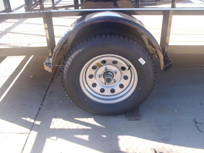 Utility Trailer 5 X 12 Ramp 2990 # Axle