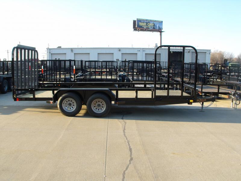 Landscape Trailer 83 X 18 Side Load Rear Load 7000 GVW in Ashburn, VA