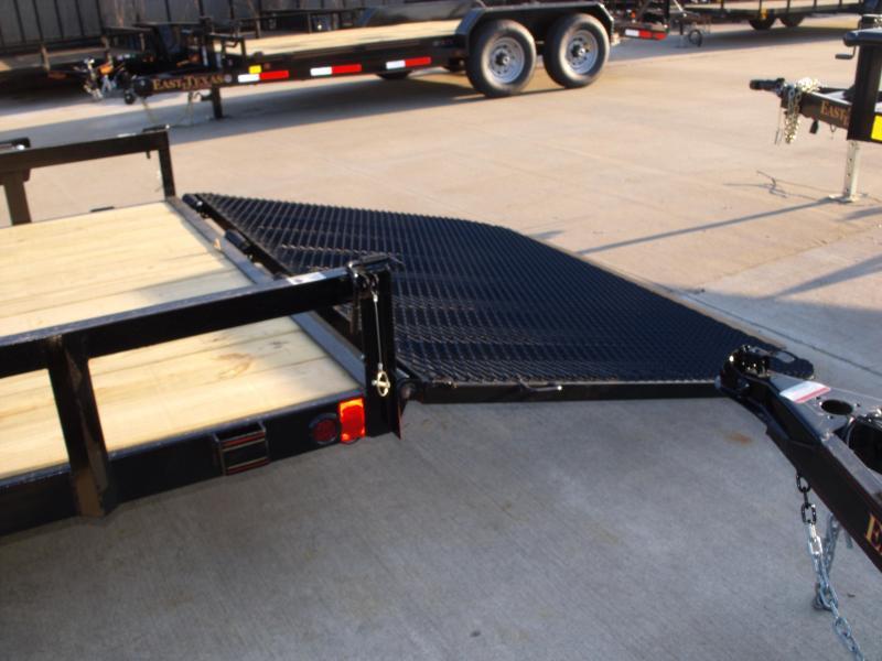 Landscape Trailer 83 X 18 Side Load Rear Load 7000 GVW