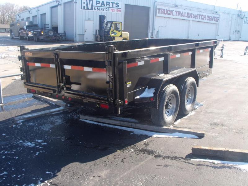 Dump Trailer 83 X 14 Combo Gate 14000 GVW Tuff Side