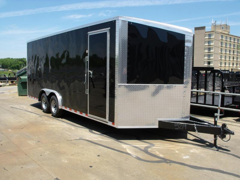 Enclosed Trailer 8.5 X 20 Dove Tail With (HD Ramp)   7 ' Interior 10400 GVW ALL TUBE Construction  4 Wheel Brakes  in Ashburn, VA