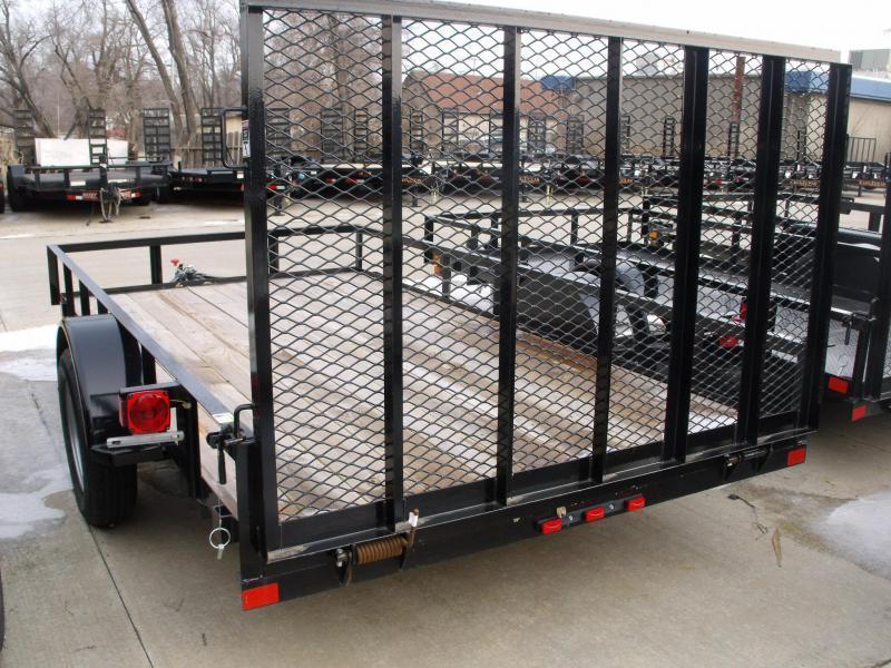 Utility Trailer 77 X 12  Ramp 2990 Axle East Texas