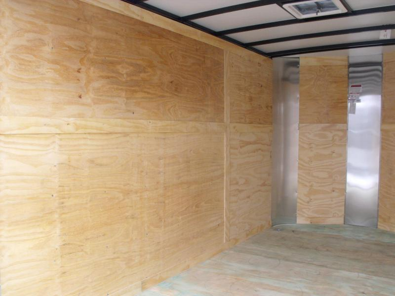 Enclosed Trailer 7 X 12 Ramp 7' Interior Height Electric Brakes