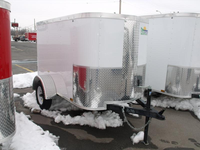 Enclosed Trailer 4 X 6 BARN BOORS ALL Tube Construction