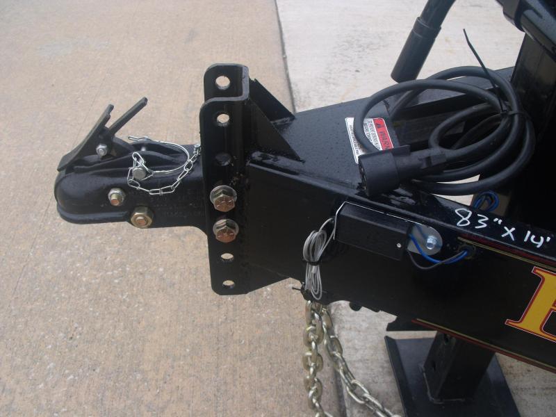 Dump Trailer 83 X 14 12K Tarp Ramps Power UP Power Down