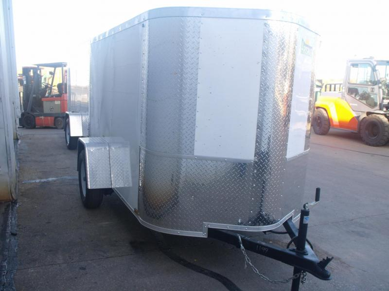 Enclosed Trailer 5 X 8 Ramp 5' Inter Height ALL Tube Construction