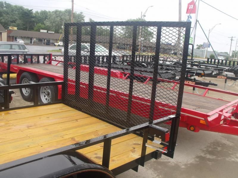 Lawn Trailer  77 X 16  HD Gate